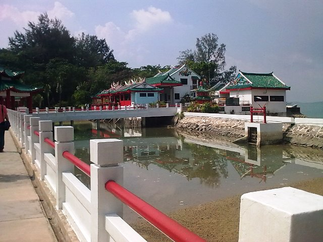 Temple of Da Bo Gong in Batam Island