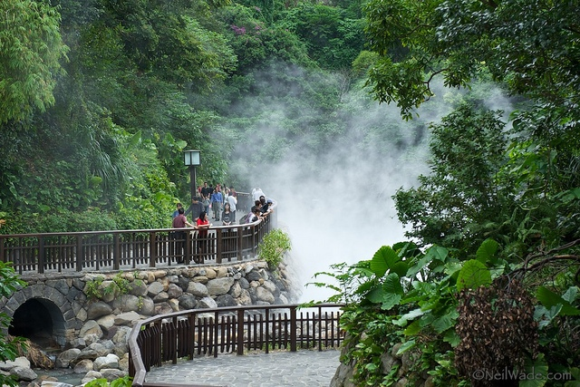 taipei's geothermal valley