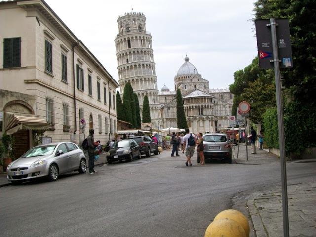 cathedral and the leaning tower