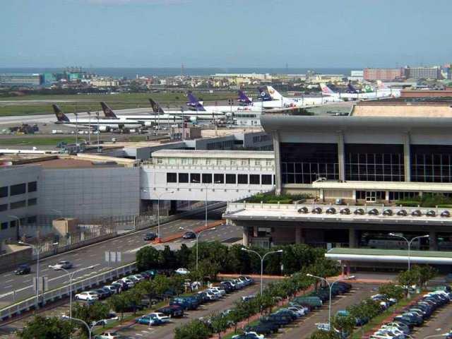 airport, taoyuan, taiwan