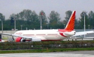 airplane, getting to goa, india