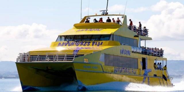 island hopping, fiji