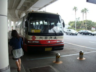 bus, getting around, jeju-do