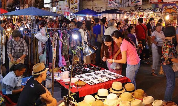 night market, shopping, chiang mai, thailand