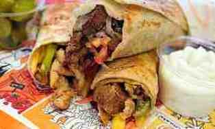shawarma, delicious local food, amman, jordan