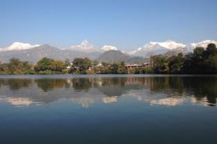 lake, nepal,