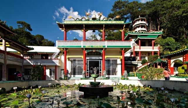 bell church, baguio, taoist temple, philippines