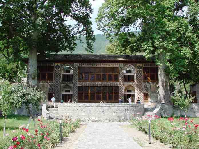 magnificent palace, decorated palace, azerbaijan