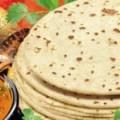 chapatti, local food, agra, india