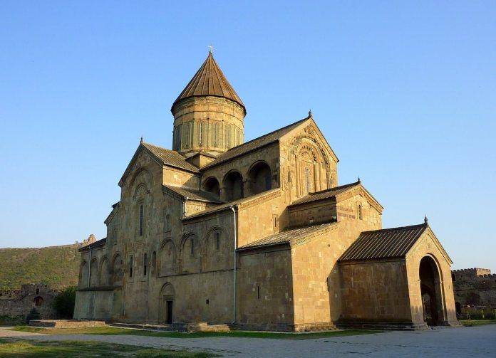 svetitskhoveli , church, medival, georgia