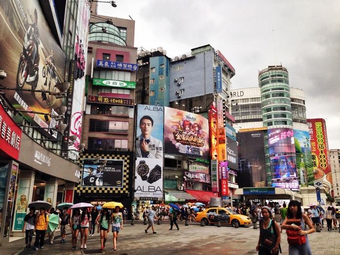 district, taiwan, taipei, ximending
