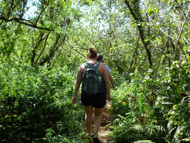 hiking, guam
