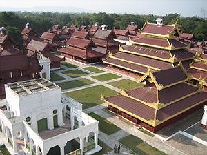 palace, myanmar, mandalay