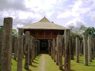 leading attractions, anuradhapura, lohaprasadaya, sri lanka