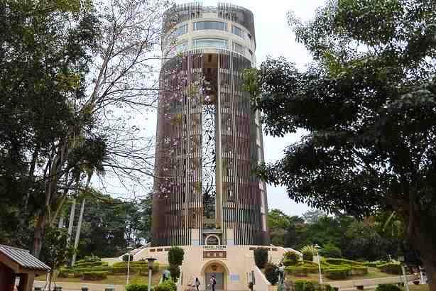 sun shooting tower, chiayi tower, taiwan