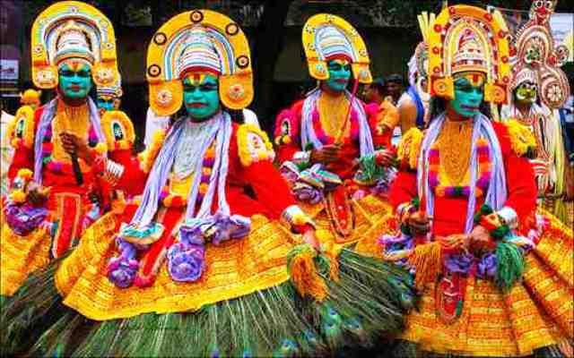 festivals, kochi, india, athachamayam