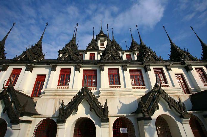 wat ratchanadda, temple, bangkok, thailand