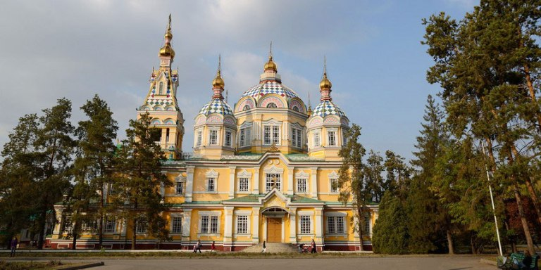 kazakhstan, attractions, zenkov church