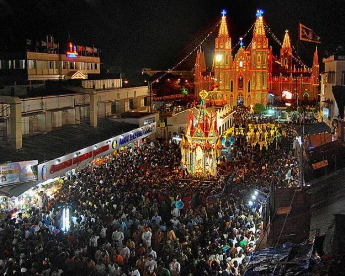 culture and festivals, india, chennai, velankanni