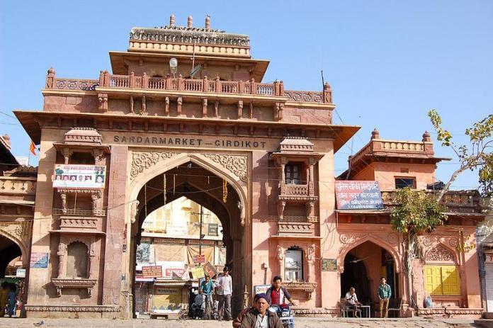 shopping, nadar, market, india, jodhpur