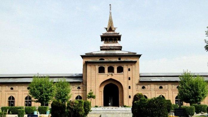 srinagar jama masjid, india, worship place