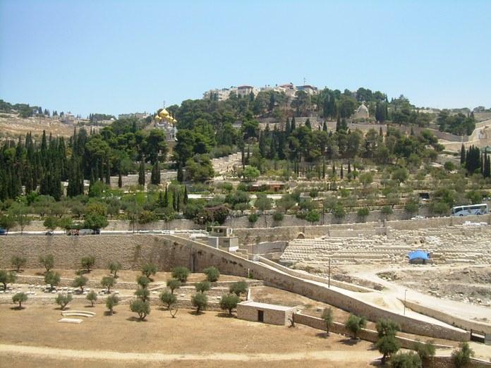mount of olives, jerusalem, israel