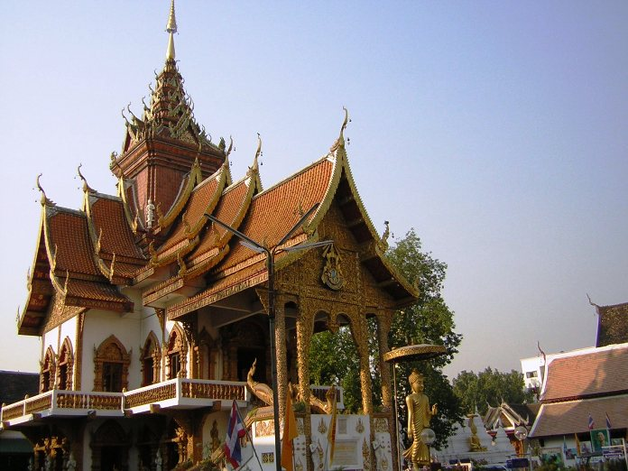 temples of chiang mai, thailand, wat bup pha ram