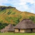 traditional village, fiji, navala