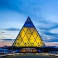 pyramid, kazakhstan, palace of peace,