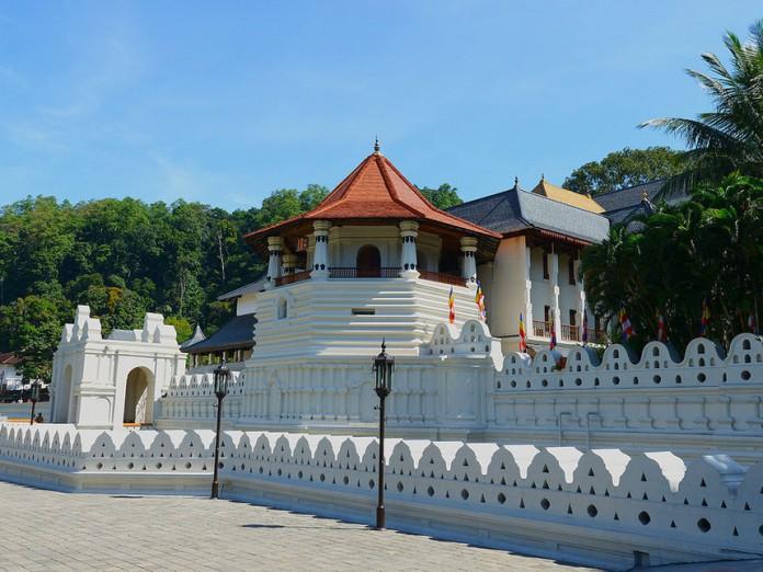 temple, sri lanka, buddist temple