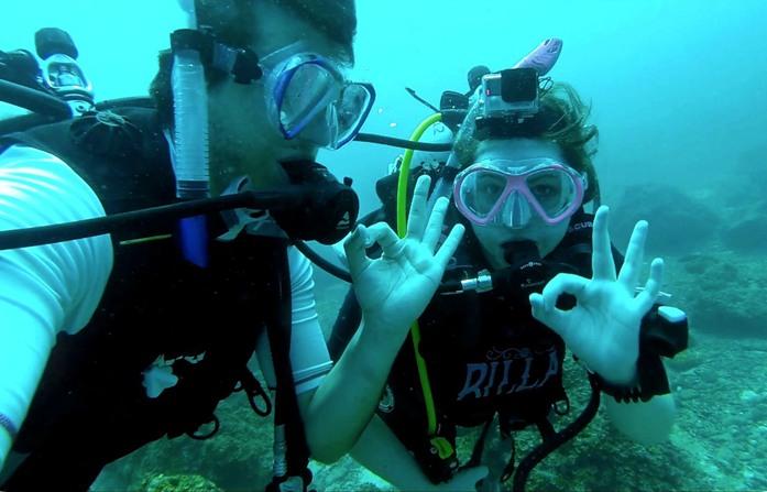 diving, water activity, bahrain
