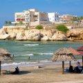 beach, qurum, oman