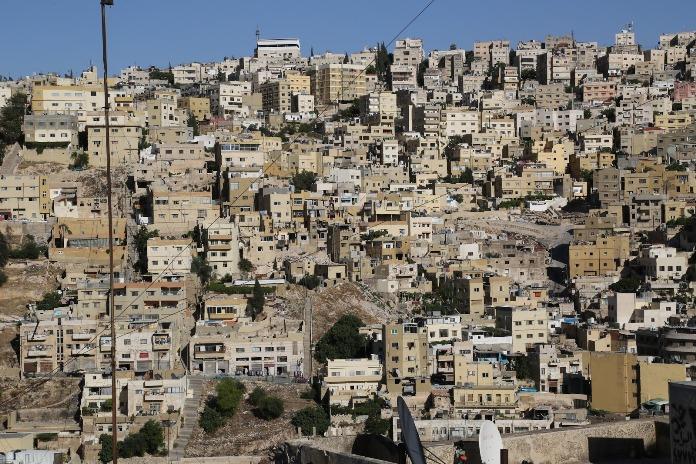 jabal, amman, jordan, old town