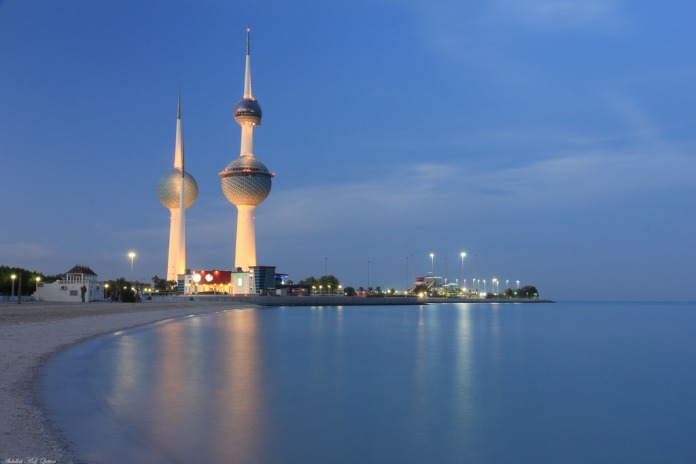 kuwait towers, beautiful stucture towers, kuwait