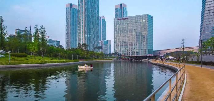 songdo international city, incheon, korea