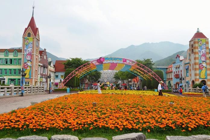 seoul land park, korea,