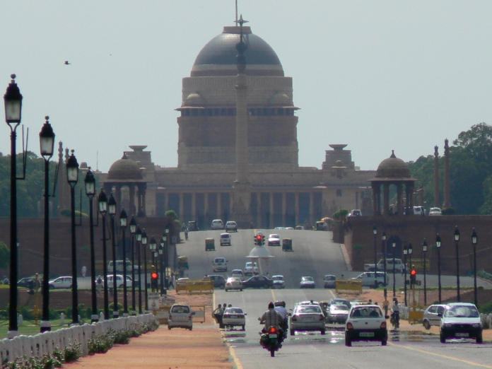 rajpath, india, new delhi