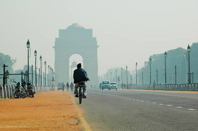 rajpath, india, new delhi