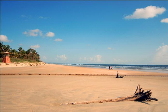 majorda beach, goa beach, india