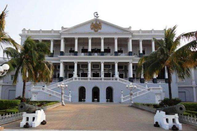 palace, india, hyderabad, falaknuma