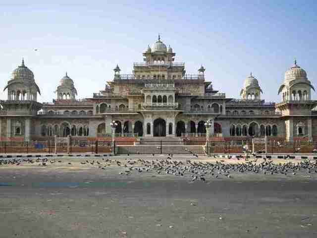 museum, albert hall, india, jaipur