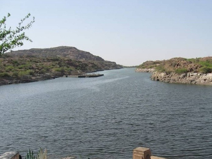 kaylana lake, india, jodhpur