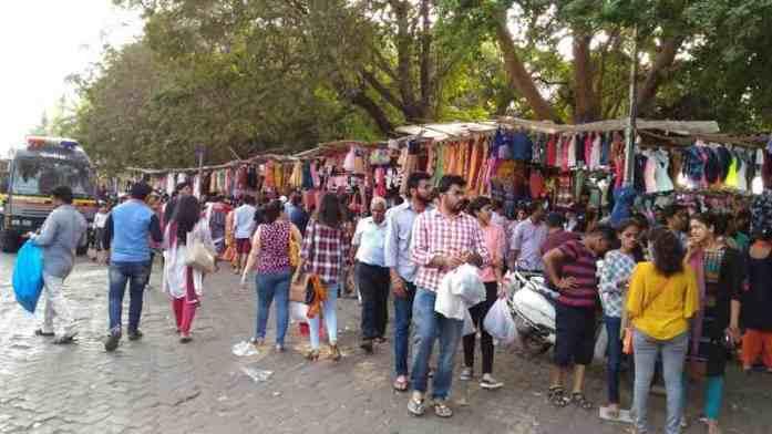 linking road bandra, shopping area, mumbai