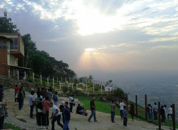 nandi hills, bangalore, india