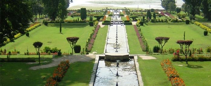 gardens, srinagar, india