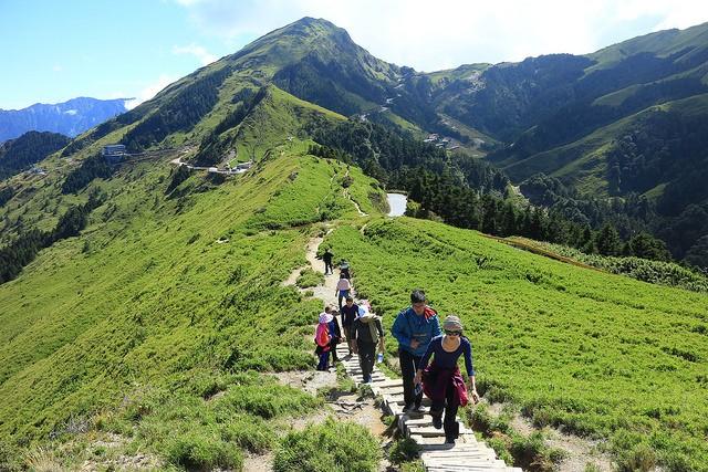 hiking mut hehuan, taiwan, hualien