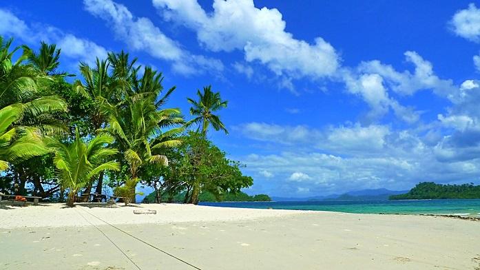 german island, port barton, palawan, philippines
