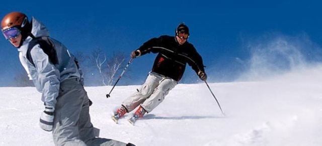 skiing, recreational activity srinagar, india