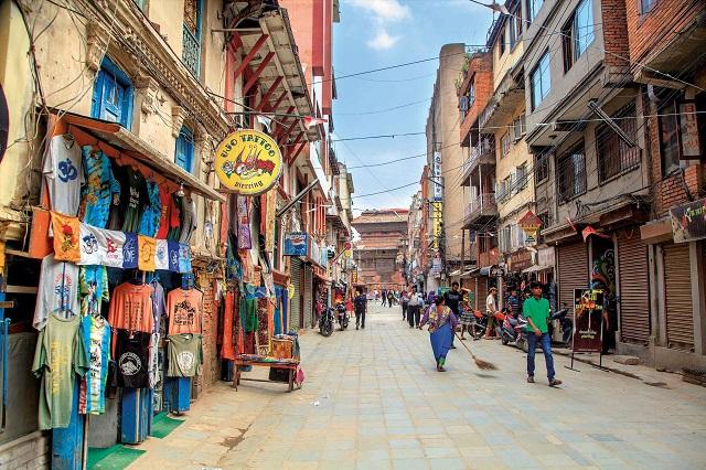 freak street, kathmandu, nepal
