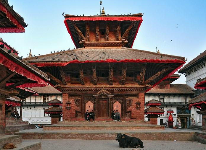 jagannath mandir, kathmandu, nepal